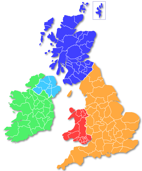 Map Search Find A Pet Friendly Holiday Uk