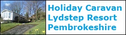 Dog Friendly caravan 512 Lydstep Resort in Pembrokeshire