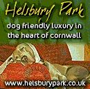 Pets very welcome at Helsbury Park cottages in Cornwall