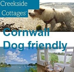 waterside cottages in Cornwall